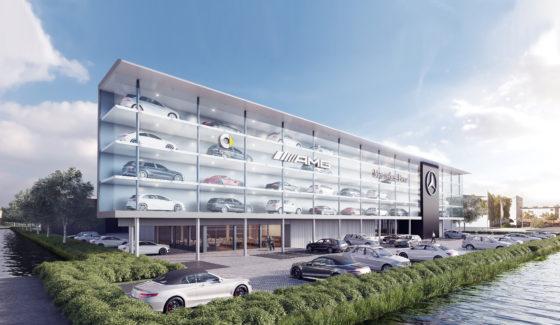 Ibelings Van Tilburg Flagshipstore Mercedes Den Haag