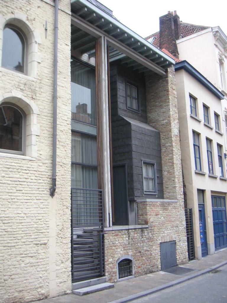 Invulling in historische binnenstad (Brugge) Architect onbekend