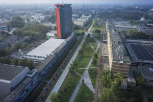 POSAD maakt gebiedsvisie hart TU Delft