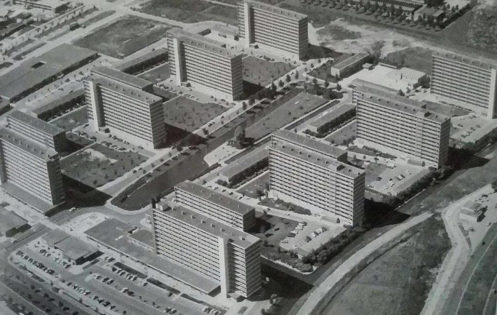 Poptahof in Delft. Van Embden, 1962-1964