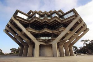 Blog – Geisel Library van de de Universiteit van Californië-San Diego
