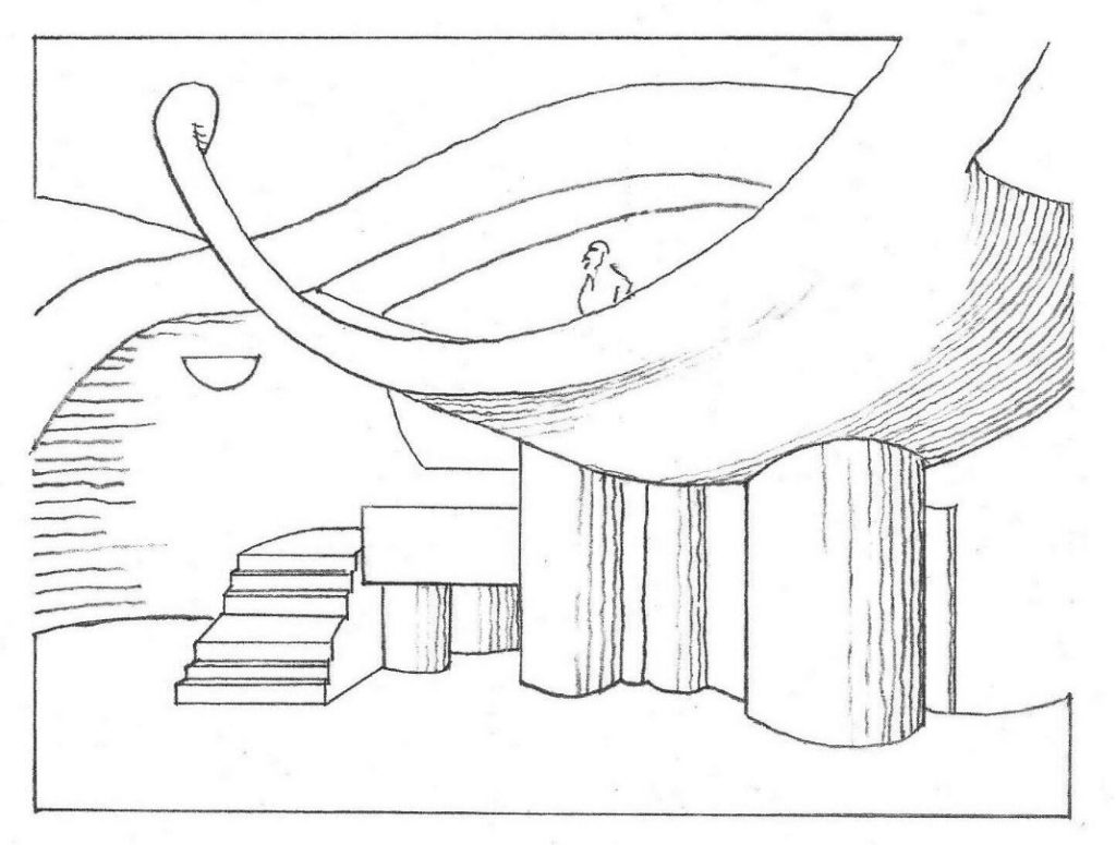 Amphitheater door Paolo Soleri