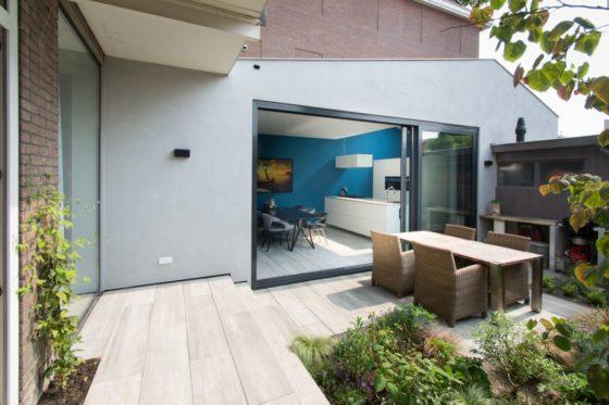 Gedraaid blikveld woonhuis Utrecht – Richèl Lubbers Architecten
