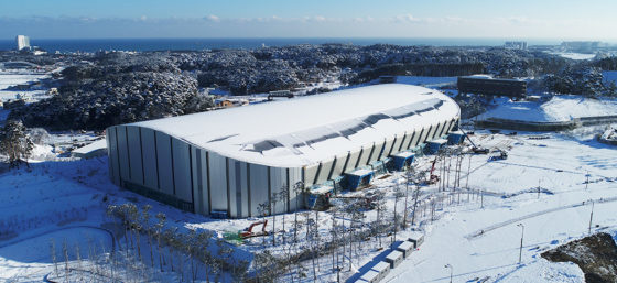 OS2018 Pyeongchang: Gangneung Oval – Idea Image Institute of Architects (IIIA)