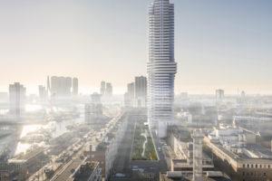 Rotterdamse Torens: Cooltoren door V8 Architects viert uitzicht