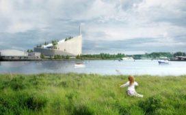 BIG's Copenhill energiecentrale met skibaan nadert oplevering