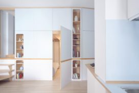 Interieur Riviera Cabin studio – llabb