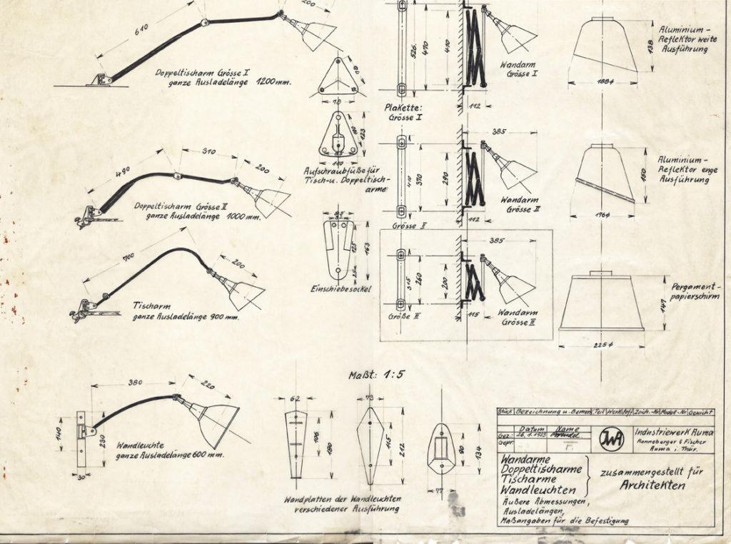 Overzicht Midgard lampen voor architecten