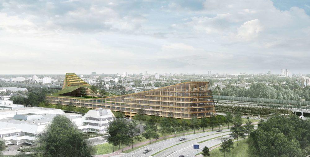 Studio Marco Vermeulen ontwerpt The Dutch Mountains in Brainport Eindhoven