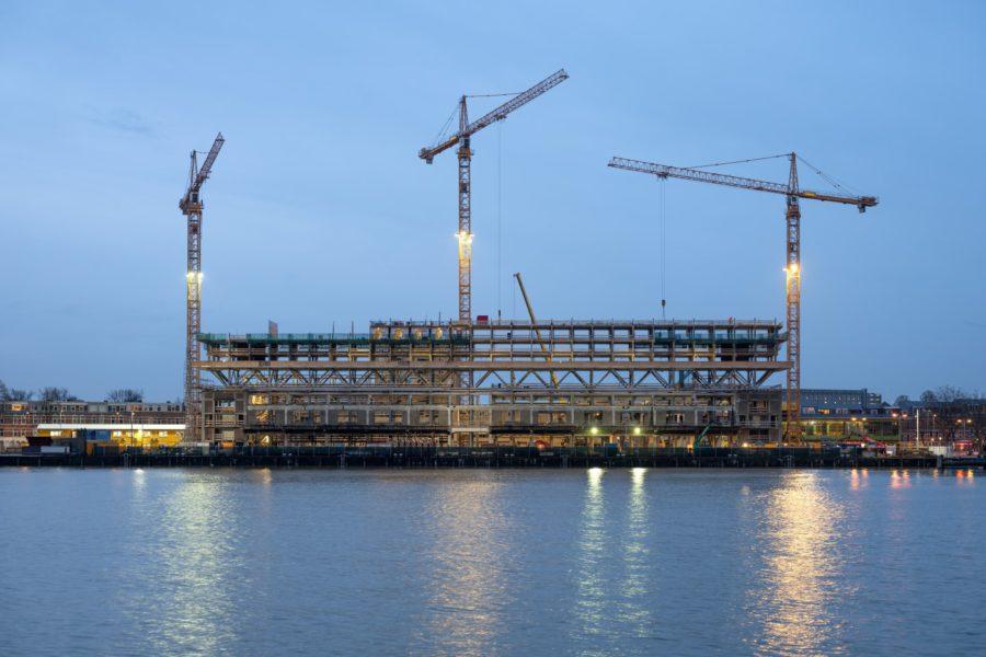 Fenix I lofts Rotterdam door Mei architects krijgt vorm