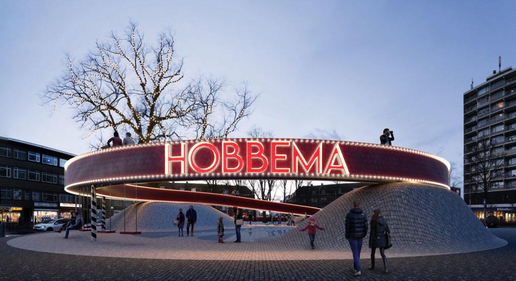 Landmark Hobbemaplein Den Haag door BOLD-Collective