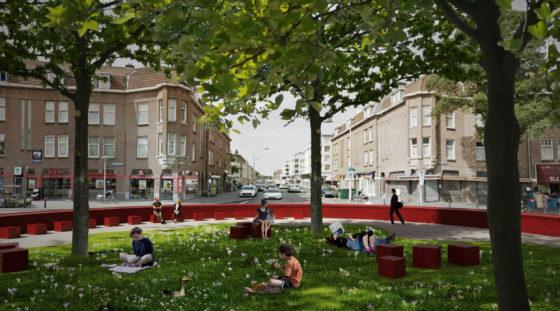 Landmark Hobbemaplein Den Haag door BOLD