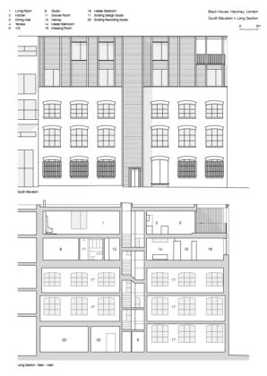 Black house simon conder associates elevation section 298x420