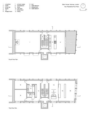 Black house simon conder associates plan 299x420