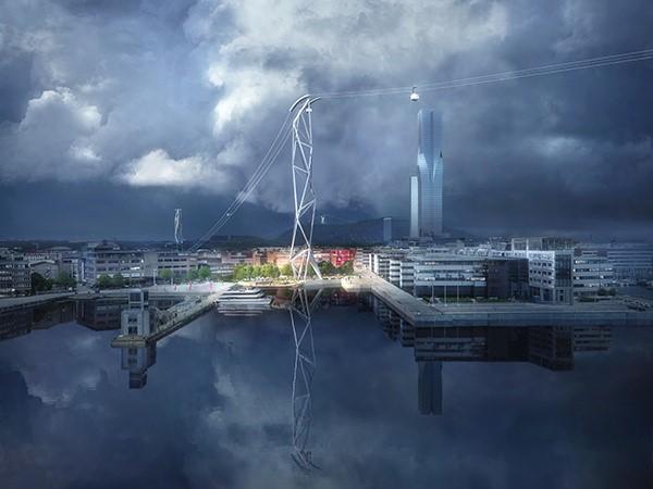 UNStudio ontwerpt winnend plan voor jubilieum Göteborg