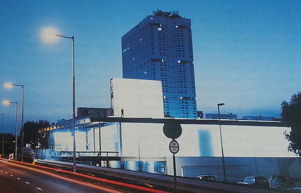 Kunsthal Rotterdam door OMA