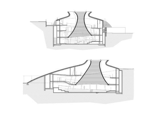 Mount herzl memorial jeruzalem kimmel eshkolot architects. foto amit geron 19 560x396