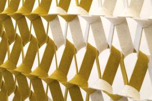 Object 2018 Rotterdam: akoestisch textiel van Petra Vonk