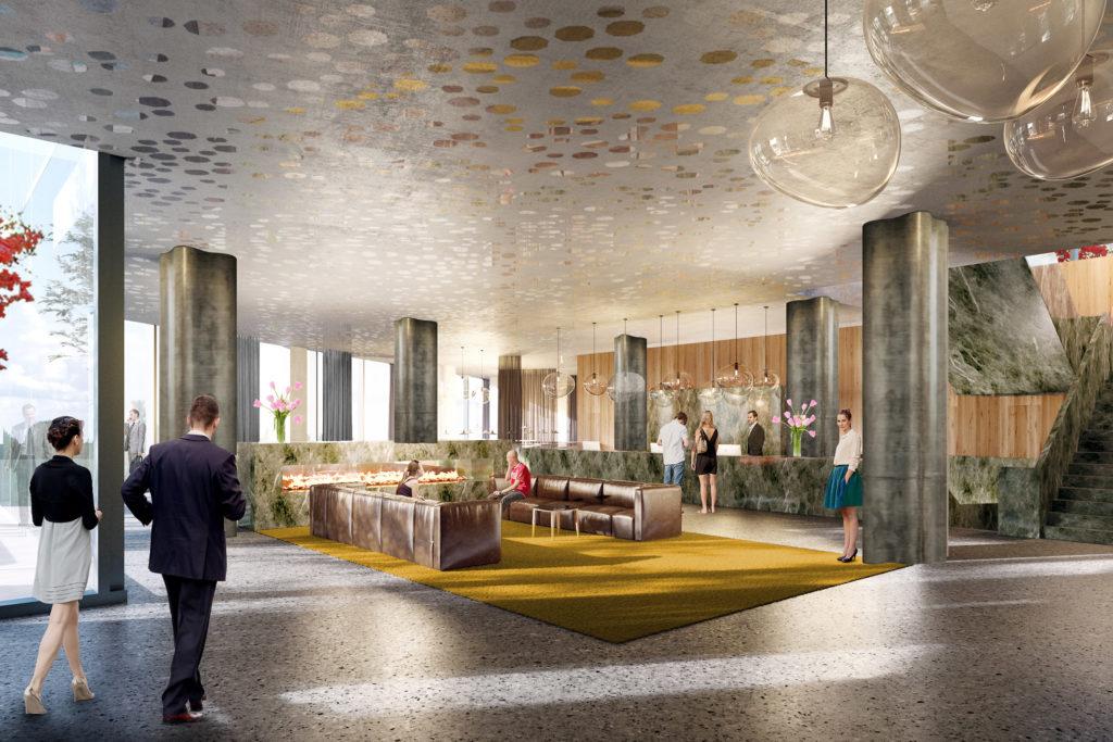 Van der Valk Hotel Amsterdam door Wiel Arets Architects