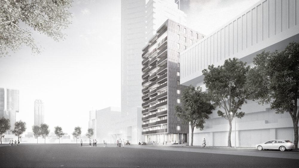 Rotterdamse torens: Willemstoren door IWT & Studio for New Realities