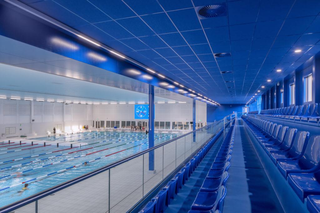 Zwemcentrum Rotterdam door Kraaijvanger Architects. Foto Ronald Tilleman