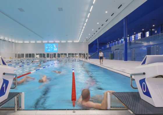 Zwemcentrum rotterdam kraaijvanger architects foto ronald tilleman 7 560x395