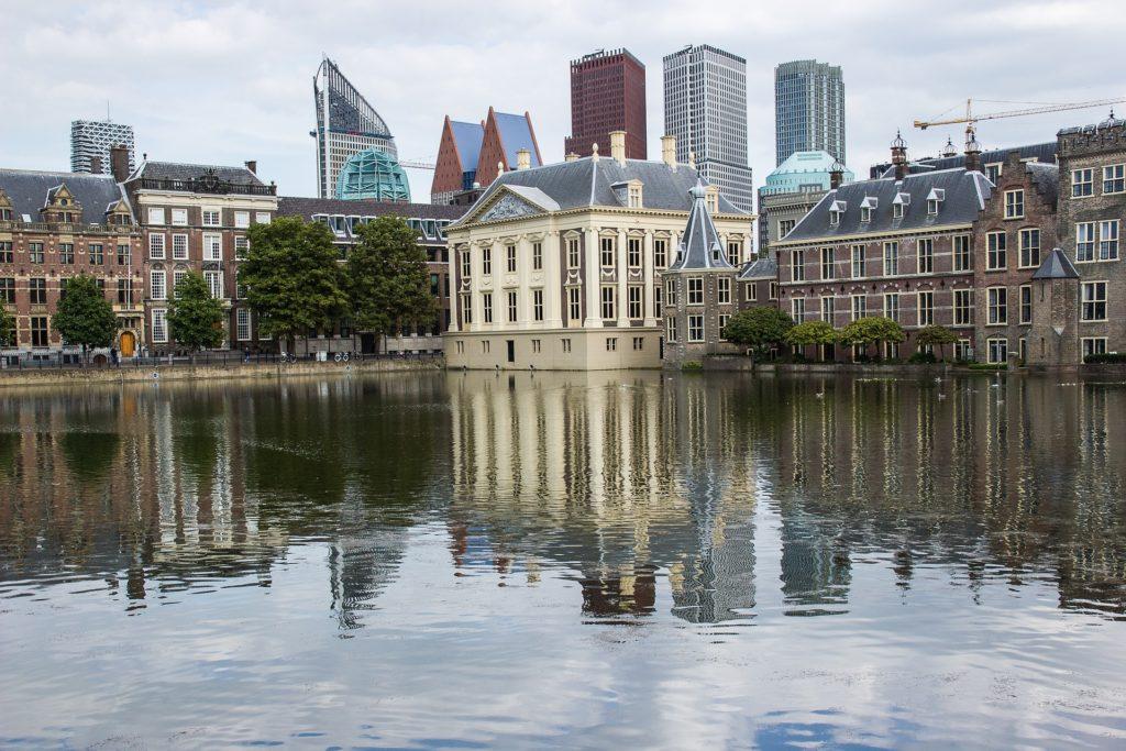 Zicht op Den Haag
