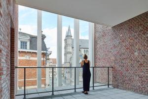 Verbouwing historisch pand Korenmarkt Gent – Abscis Architecten