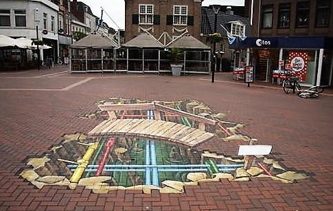 Een kijkje onder de stad in Almelo door Ruben Ponica