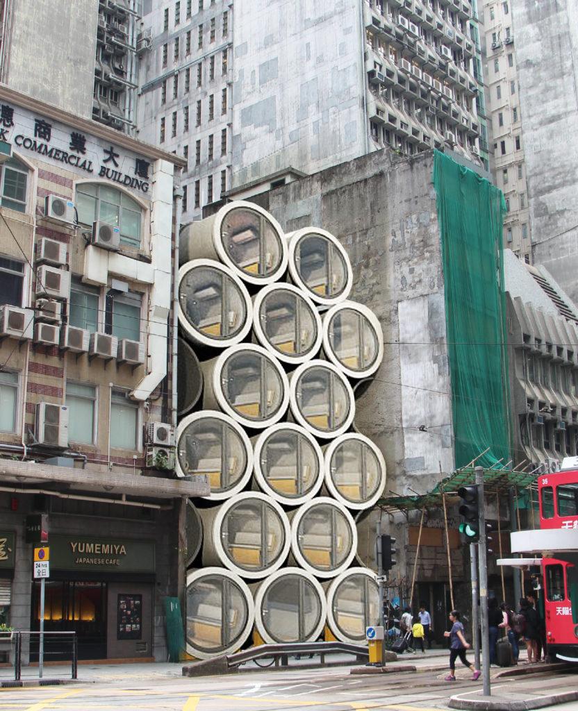 Opod James Law Cybertecture Micro appartementen Hong Kong