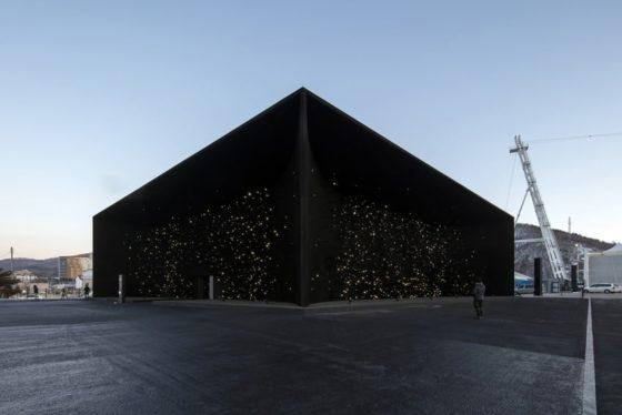 OS 2018: Hyundai-paviljoen Pyeongchang – Asif Khan Architects