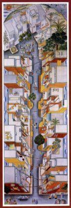 Aranya Community Housing (1989) in Indore door Balkrishna Doshi, winnaar Pritzker Prize 2018, beeld VSF
