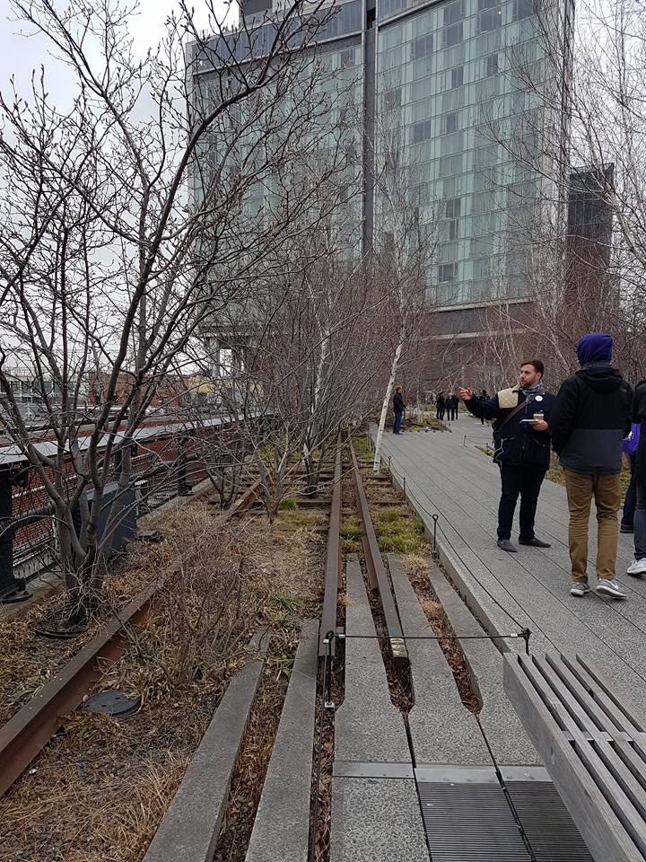 Highline New York. Beeld Alwin de Wilde