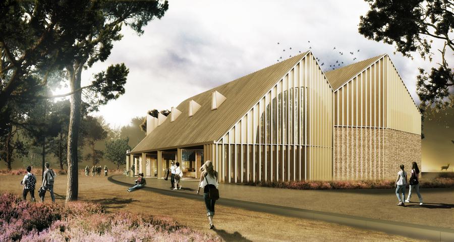 Start bouw multifunctioneel gebouw Nationaal Park De Hoge Veluwe