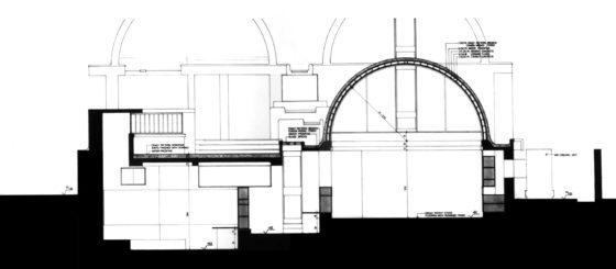 Sangath Architect's Studio (1980) in Ahmedabad door Balkrishna Doshi, winnaar Pritzker Prize 2018, beeld VSF