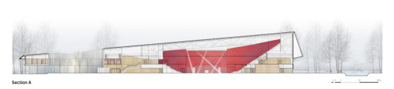 Sportcampus zuiderpark faulknerbrowns architects section a 560x127