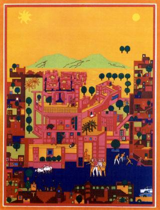 Vidhyadhar Nagar Masterplan en Stedebouwkundig ontwerp (1984) in Jaipur door Balkrishna Doshi, winnaar Pritzker Prize 2018, beeld VSF