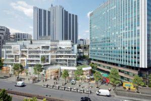 Bouwstart transformatie en uitbreiding Gaîté  Montparnasse Parijs door MVRDV
