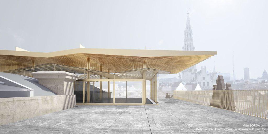 De Biertempel in Brussel door Robbrecht & Daem architecten