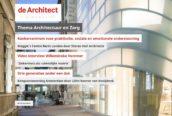 Nieuwe Digimagazine is uit – thema Architectuur en Zorg