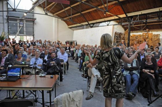 Johanna van der Werff blikt terug op vijftien jaar FASadE in Amersfoort